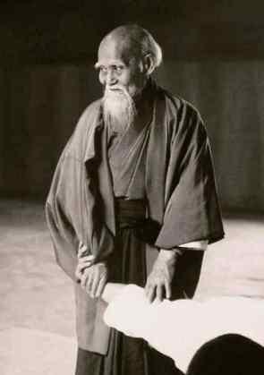 Morihei Ueshiba aikido