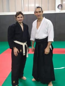 Photo avec Léo Tamaki
