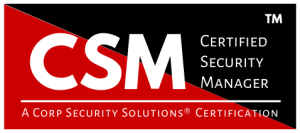 CSM - Certified Security Manager