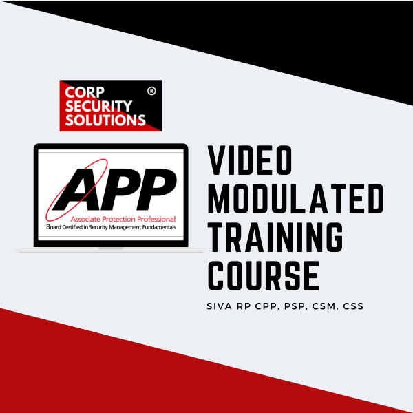ASIS APP Training Course