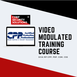 ASIS CPP Training Course