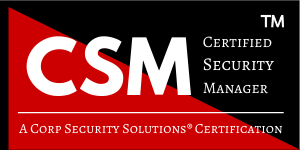 CSM - Certified Security Manager 300x150