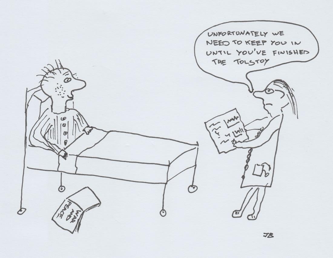 Joe Baker cartoon