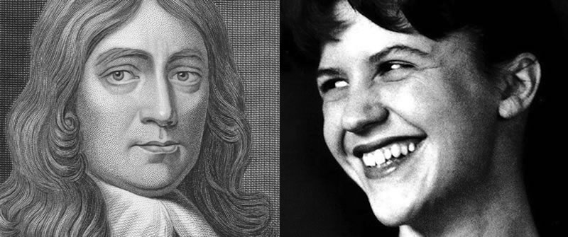 John Milton and Sylvia Plath