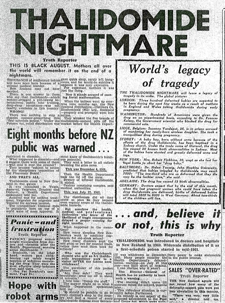 Thalidomide article - 1962-08-07