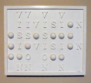 Braille art