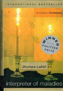 Interpreter of Maladies, jhumpa Lahiri
