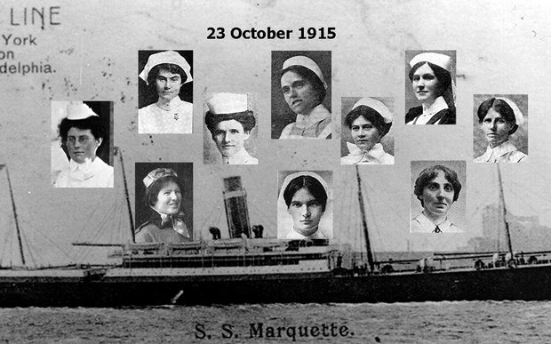 Marquette sinking - 23 October 2015