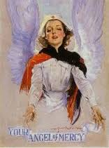Nurse as angel of mercy