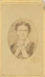 Carte de Visit of Anna Longshore Potts