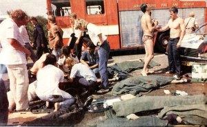Westdene Dam bus disaster triage