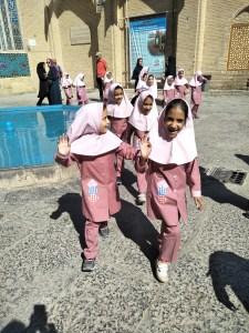 Iranian schoolgirls