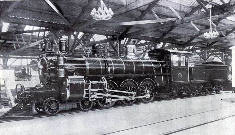 Addington Workshop locomotive
