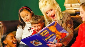 Dolly Parton, book champion