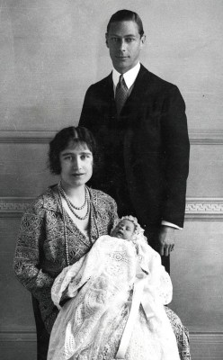 Queen Elizabeth newborn