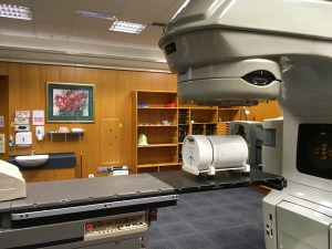 Linear Accelerator Treatment Room in the Oncology Department, Dunedin Hospital