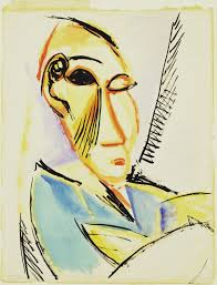 Head of the Medical Student by Pablo Picasso, 1907