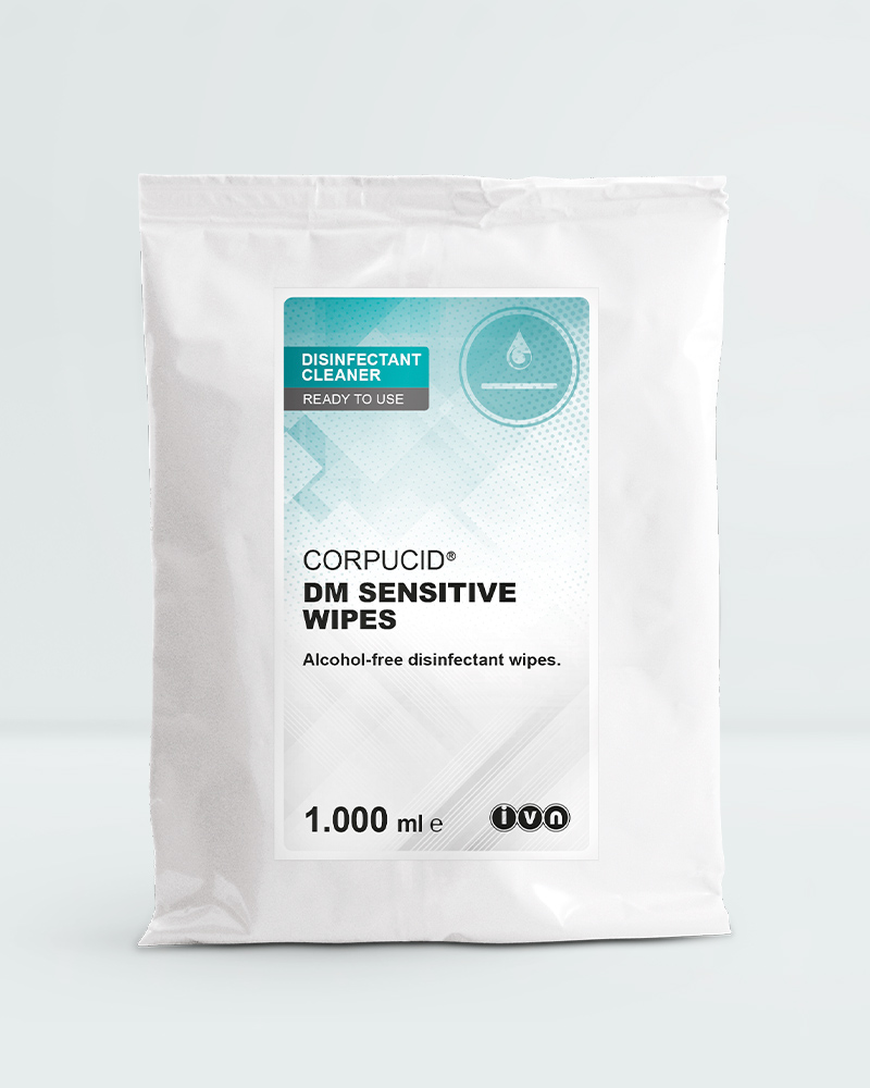 CORPUCID® DM Sensitive Wipes