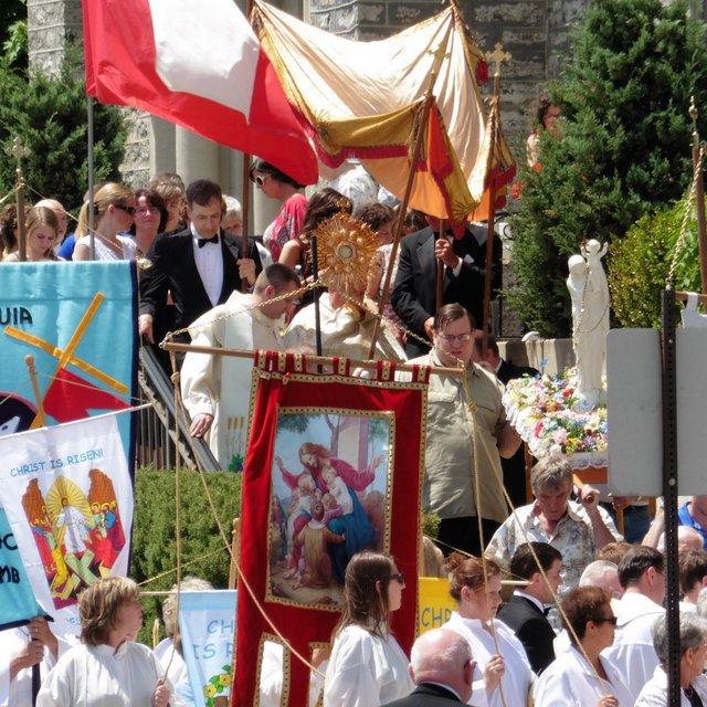 Bishop Malone to Lead Corpus Christi Procession