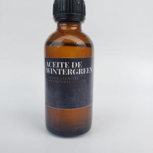 aceite de wintergreen