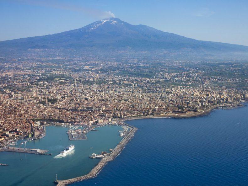 citta italiane da visitare, catania, etna, sfondo hd, vacanze in Italia