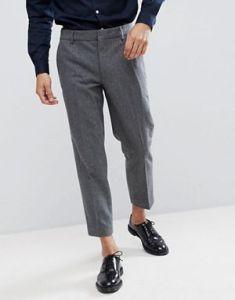 pantaloni per uomo, grigi