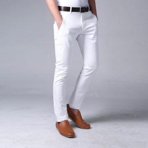 pantaloni per uomo,bianchi