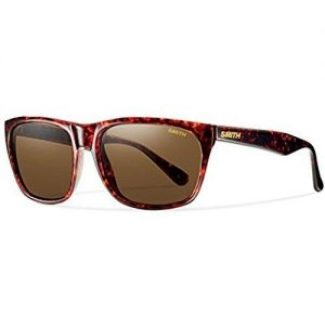 smith optics, men's sunglasses, red