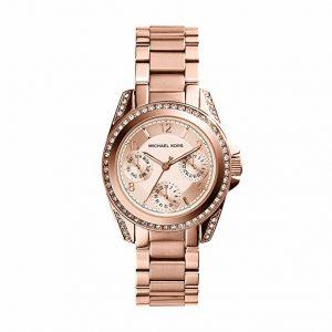 Michael Kors, mini blair, orologi da donna