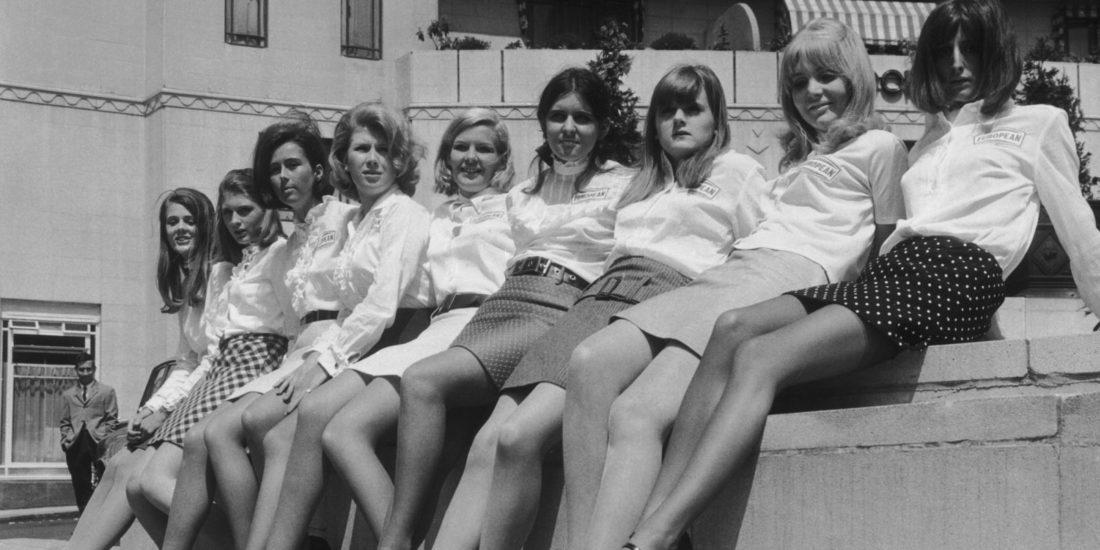 miniskirt, 60s years