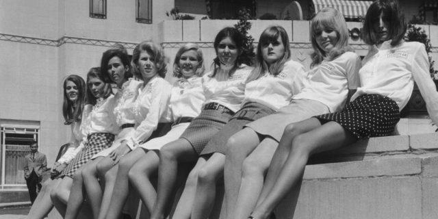 minigonna, anni 60, moda
