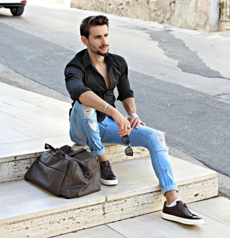 corrado firera, carpisa man bag, fashion blogger italiani, cf magazine