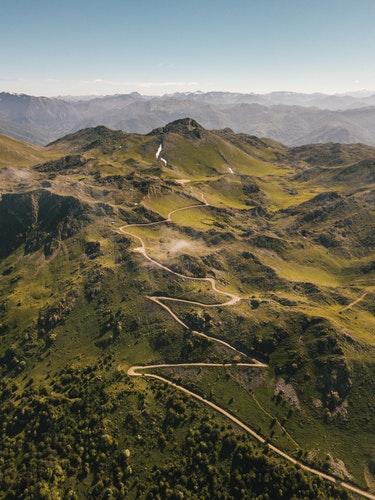 The tranquil Asturias mountains