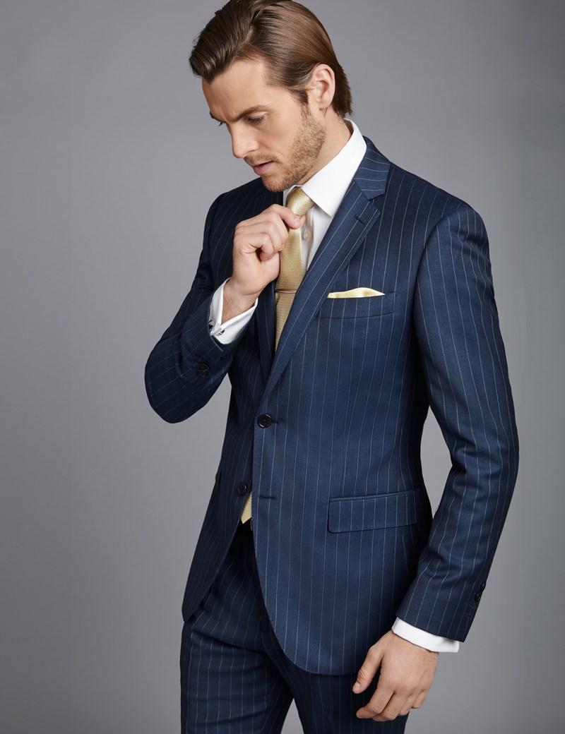 vestito gessato uomo