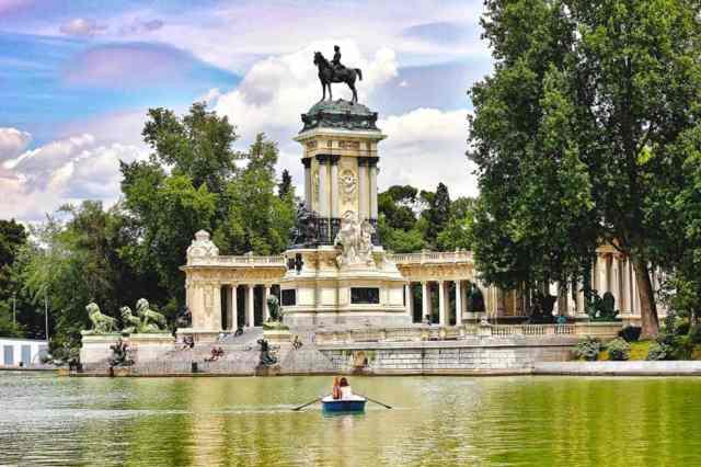 Parco del retiro, madrid