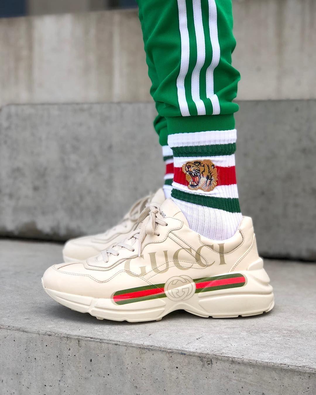 tendenze scarpe uomo inverno 2019, gucci sneakers, scarpe grosse
