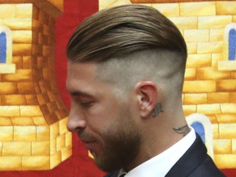 taglio capelli uomo 2019, sergio ramos
