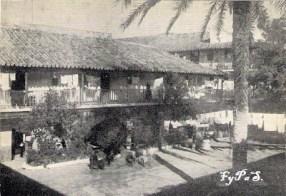 Patio del Corral del Conde, 1900