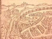Sevilla, Cosmographia, 1544, Sebastian Muenster (detalle)