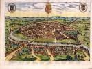 Sevilla, 1588, Sevilla Circa, Joris Hoefnagel (Dutch, 1542-1600)