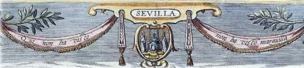 Quien no ha visto Sevilla, no ha visto maravilla, 1598, Grabado parcial