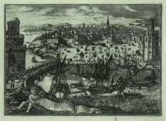 Vista de Sevilla desde Triana (1738), Pedro Tortolero, Biblioteca Nacional, Madrid.
