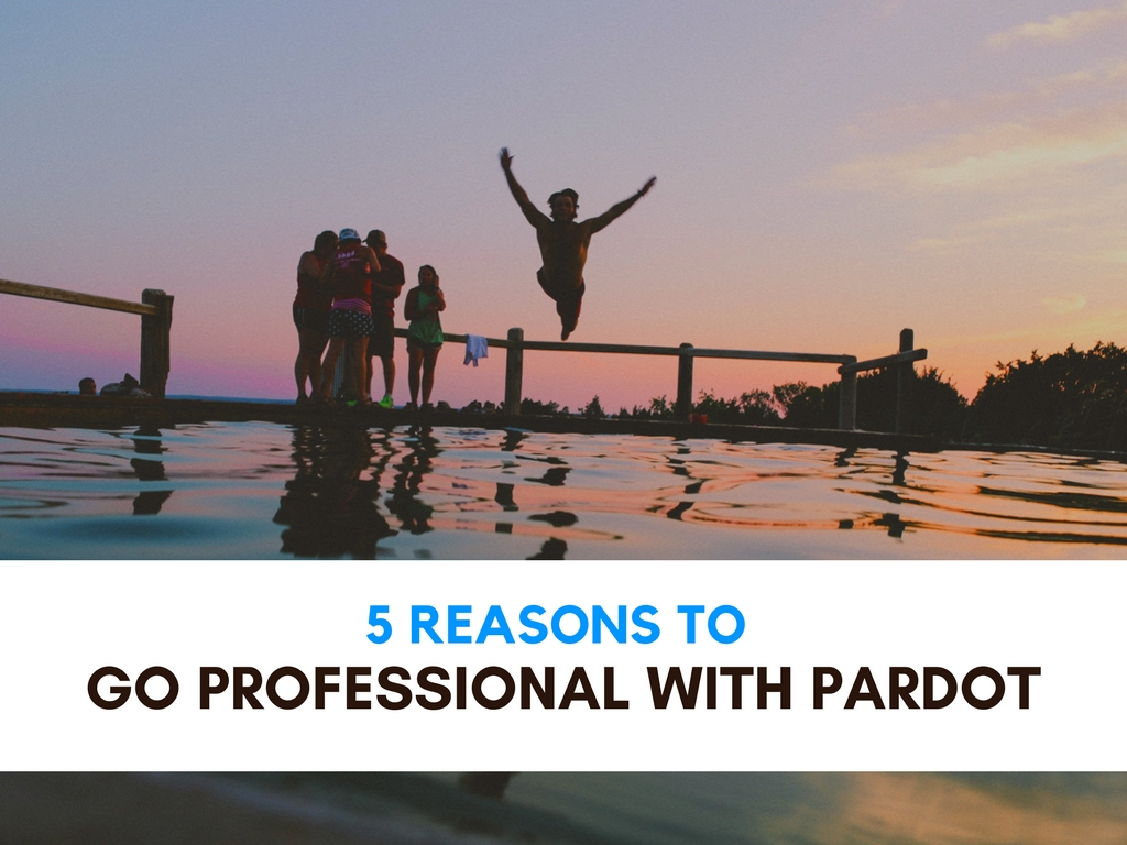 4 Reasons To Go Professional with Pardot