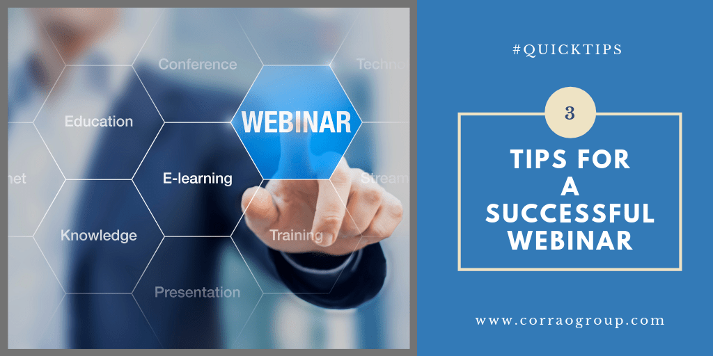 How to Prepare for a Successful Webinar