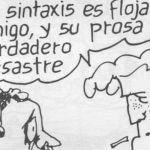 """Roberto Fontanarrosa y el """"corrector"""" Boogie, el aceitoso"""