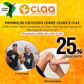 Parceria | Corre Ceará e CIAA
