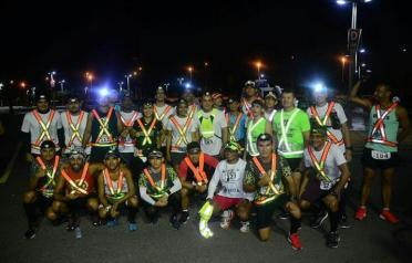 Álvaro Timbó e amigos no Desafio 100K Canindé 2018