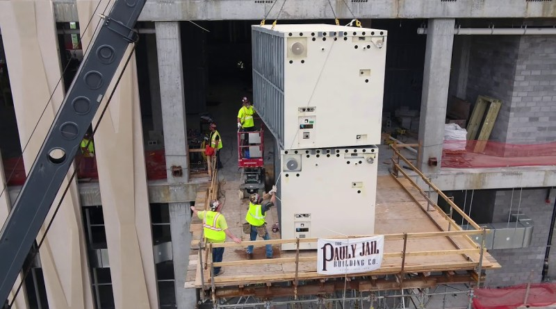 VIDEO: SteelCell Provides Cells for New Davidson County Criminal Justice Center
