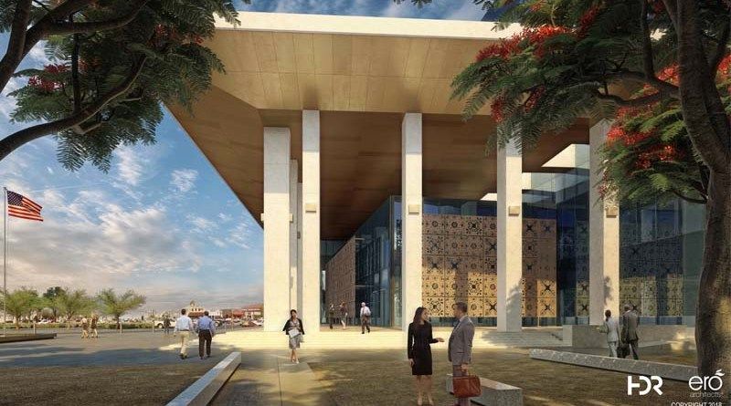 HDR Designs New Hidalgo County Courthouse