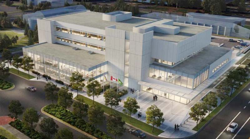 New Courthouse in British Columbia Well Underway